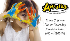 Awana - Thursdays 6:00 PM