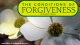 The Conditions of Forgiveness