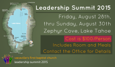 Leadership Summit 2015 - Aug 28 2015 1:00 PM