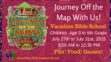 Vacation Bible School - Journey Off the Map