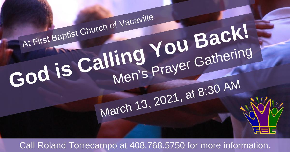 Men's Prayer Gathering